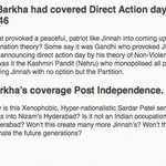 If Barkha had covered Direct Action day & Post independence Unification of India. https://t.co/FpXSiC69h4