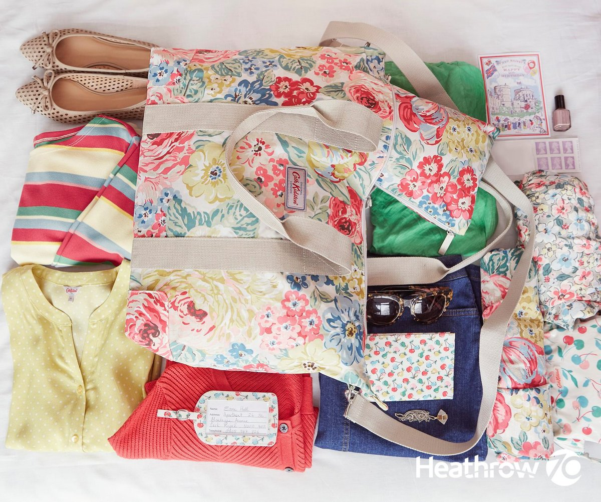 Tell us your Heathrow story for a chance to win a @Cath_Kidston travel gift:
