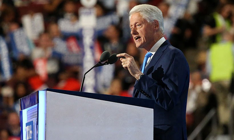 Bill Clinton delivers a really sweet speech to 'best friend' Hillary: