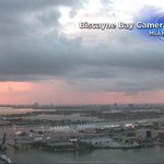 And then the sky turned PINK. Cool #Sunrise from our #Miami camera. Happening right now @CBSMiami @MiamiHerald #CBS4 https://t.co/rAjWzBgvgD