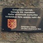 El pueblo de #Getaria quiere expresar,ser un municipio fundado por el Reino de Nabarra en el S.XII.#ZazpiakBat https://t.co/0D8s8ULVnb