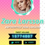 Current Top 4 most voted artists on the #MTVHottest competition. Fifth Harmony still in the lead and Zara in top 4. https://t.co/DQwhOIPIyg