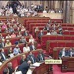 Triste imagen un parlamento vacío. La Cataluña de unos no de todos https://t.co/CZAyQ9ZkdW