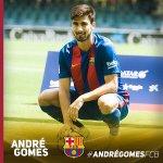 André Gomes com as suas novas cores. https://t.co/cRiBp1GPXy