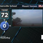 Fog in Mt. Vernon. @14News #tristatewx https://t.co/I78pNOPgtf