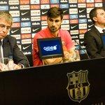 """🔊 André Gomes: """"Quiero aportar trabajo, sacrificio y humildad para ayudar al FC Barcelona"""" #FCBlive https://t.co/8JV23iwPlj"""