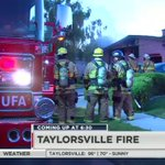 Gathering details on the house fire in Taylorsville @KSL5TV #kslam https://t.co/chbviB6cwB
