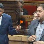 L'amenaça d'Albiol a @KRLS Puigdemont i @Junqueras i la resposta del vice-president https://t.co/ZruM6QYtww https://t.co/ekebPnAxun