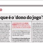 Um gajo até fica confuso ao ler opiniões destas. Não estou habituado. #SportingCP https://t.co/gs8ztiipoI