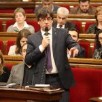"""Parlament Cataluña: Aprueban la """"desconexión"""" con España. Vale.., ahora ponedlo en práctica y no pidáis ni un euro. https://t.co/Byk26n0928"""