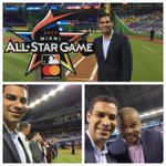At the unveiling of the new logo for the 2017 Major League Baseball all star game! #GreatforMiami @CityofMiami @MLB https://t.co/CUyWWFRwBg