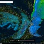 Sistema frontal acercandose al continente Chile Bio Bio y Zona sur @SismoMundial @JimenaCaceresH @CEBioBio https://t.co/YbwMdKzn5G