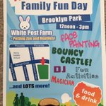 Highbury Vale Family Fun Day - Say 6th Aug) 12-3pm Brooklyn Park FREE ENTRY #Nottingham #Basford #Bulwell #NG6 https://t.co/s5EeOMAAkI