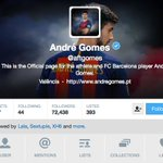 Before Gomes signed for Barça he had about 50K followers. Now: 72K! https://t.co/OYxvogCfel