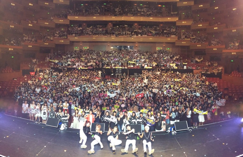 名古屋ありがとうございました!!!  初めての名古屋でのライブはDa-iCEのお客さんはたった1人で…