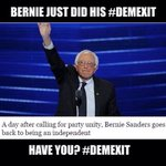 Yesterday @TheDemocrats OFFICIALLY tainted my party. Closed the doors on millions. #WednesdayWisdom #DemExit 🔥🇺🇸 https://t.co/G75eh80pww