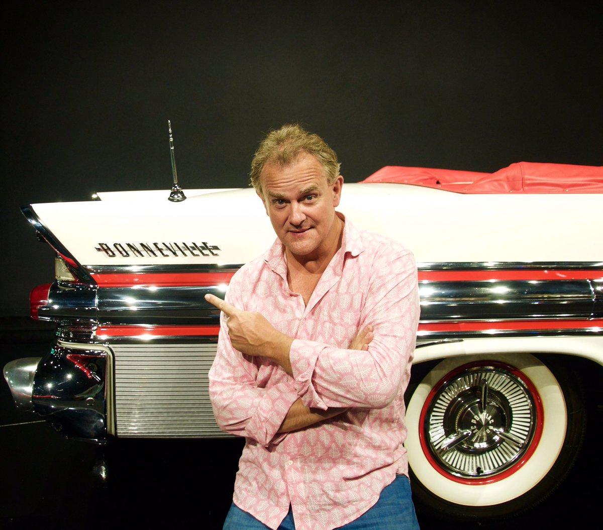 After 52 years I finally get to meet my namesake #pontiac. Car by #bonneville, shirt by @indigoisland99 (HB) https://t.co/eLjnIwQolF