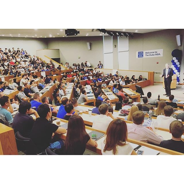 Welcome Daytime #MBA Class of 2018. We expect great things from you! https://t.co/TjI3dMxwGH