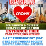 Its the @LoveCronx2016 launch party tomorrow at @lost_format rooftop bar #Croydon represent your town! FREE ENTRY https://t.co/O0wmYnr5s0