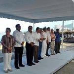 Inicia ceremonia de izamiento de la bandera @BlueFlagIreland en playa Icacos #Acapulco https://t.co/WmmsrFnmCO
