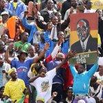 Thousands rally for Mugabe after war veteran rebukes him as corrupt https://t.co/kmMKoyQCFV https://t.co/T7wCCPYsYE
