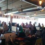 Awesome event #WaffleWednesday Broward! Thanks @YesWeAreMad and @LiveNinjaDotCom for hosting! @wyncode #LearnToCode https://t.co/DiEzYnl8cT