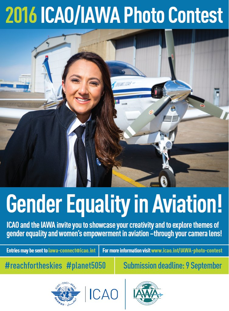 Could you win our photo contest on GenderEquality & the Empowerment of Women in Aviation?