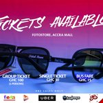Grab your #TidalRave2016 Sunglasses/Tickets from Fotostore, Accra Mall now!   30-07-16  #ForTheRaverInYou https://t.co/EbRM6JQYso