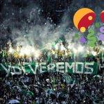 Amaneci con el alma y mi corazón vestidos de verde, vamos mi @nacionaloficial esa copa se queda en Medellin hoy. https://t.co/WB5Pyb1WlW