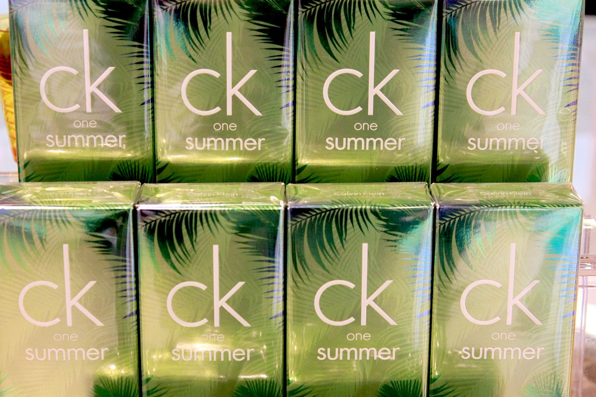 Bring the SummerHolidaySpirit back with the new CK One Summer from @WorldDutyFree