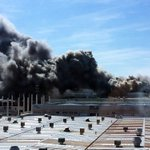 ÚLTIMA HORA: Declarado un incendio en la empresa Antonio Oneca de Orkoien https://t.co/SBYsOd5568 https://t.co/JklVy8b1kg