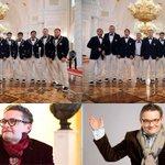 Пользователям соцсетей не понравился дизайн костюмов олимпийской сборной России. Так лучше? https://t.co/GSPAKONphO