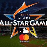 .@Marlins, @MLB unveil official logo of the 2017 #ASG. https://t.co/4hN3D01gCM