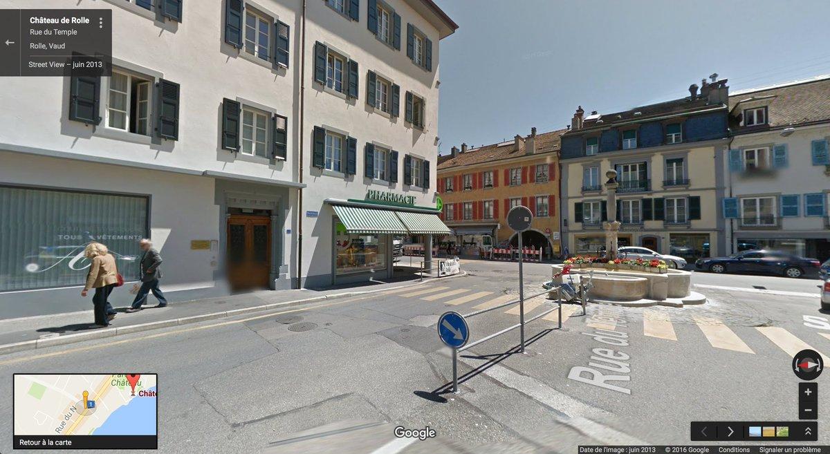 Google Street View spotted Jean-Luc Godard & Anne-Marie Miéville in Rolle! (h/t @mirormagis) https://t.co/rES81y3xZz