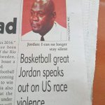"""A Malawian newspaper apparently used THIS """"BBC photo"""" of all photos for Michael Jordan (h/t @daliballz) https://t.co/7KDUVogoNk"""