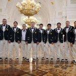 """Судя по форме, на Олимпиаду в Рио отправили команду КВН """"Одесские джентельмены"""". https://t.co/JH4LFvdvP1"""