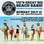 This Sunday! Plan to join us for our first ever long weekend  #sundayfunday Beach Bash! @ReginaDowntown https://t.co/MnEitOKvXs