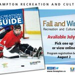 Coming soon to a rec centre near you! The Fall & Winter Recreation & Culture Guide will be out July 30. https://t.co/ifuRn8Gorq