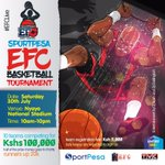 Saturday July 30th is the third edition of the monthly Sportpesa Entertainment With Fun 4 Charity. cc @EFCBball https://t.co/hNH5QZEsPd