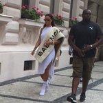 Rihanna seen in Prague earlier today. https://t.co/POKTHrXFPV