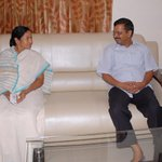 West Bengal CM @MamataOfficial  called on her Delhi Counterpart @ArvindKejriwal at the latters residence in Delhi https://t.co/fyc3alXPeQ