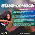 Follow instructions its very simple!! 2000ghc is at stake #DabForPeace https://t.co/JG0NQyyuCF
