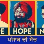 "Dear Punjab @capt_amarinder is only ""HOPE"" for Punjab ✩ JOIN Him, JOIN Congress ✩ #CongressMeansProgress @ajaymaken https://t.co/o6YKFTuojQ"