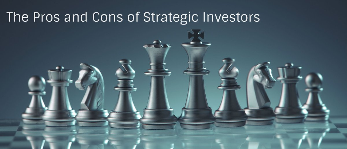 The Pros and Cons of Strategic Investors https://t.co/p7bHaORLbw https://t.co/7vqV0iFg2Q