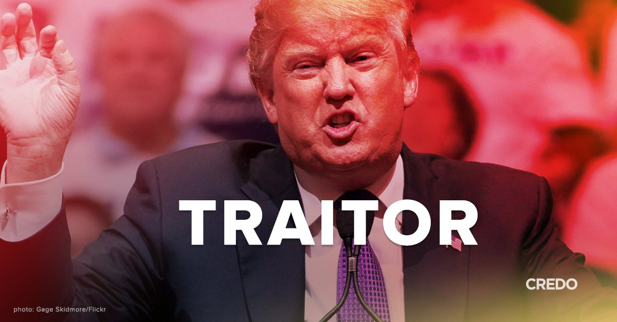 Let's call this what it is: #TrumpTreason. RT if you agree. https://t.co/aTH5qNHkP2