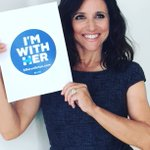 Since this is #VEEP nite at #DNC2016 I thought it would b appropriate 2 declare proudly #ImWithHer @HillaryClinton https://t.co/tNUxY8GCDT