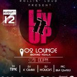 #LivItUp 12.08.16 You cant miss this!! O2 Lounge, Osu @saybrakay @LouisSparklez @NessahSarpong @CediBaakop3 https://t.co/t5XPQlwC2k