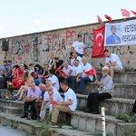 Sırbistan Preşeva bölgesinden @BASKOMUTANIMIZ @RT_Erdogana destek. https://t.co/2ff20WYu15
