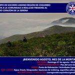 Inscríbete y participa en este Trekking gratuito junto al @CSACoquimbo https://t.co/PrHAflLKJb #LaSerena @eldia_cl https://t.co/EAgRmDSd7O