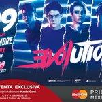 #EVOLUTIONTOUR @ArenaCdMexico 26/11. #PreventaMasterCard 7, 8 y 9 de agosto. @MastercardMex https://t.co/9WAIhtVaZ5
